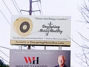 Dayspring Music Box Billboard